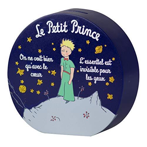 Il Piccolo Principe Lot de 1 Tirelires en bois Petit Prince Nuit 15 x 5 cm