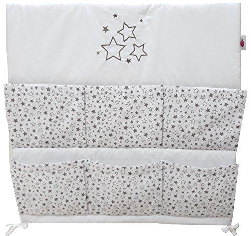 Baby Betttasche für Baby Bett, Utensilio, Wandaufbewahrung, Aufbewahrung fürs Kinderbett 60cm (Sterntaler)