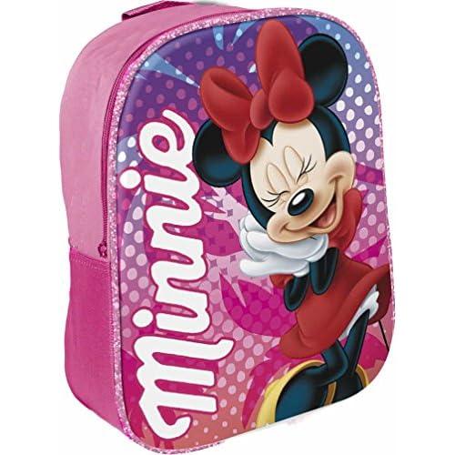 Star Licensing Disney Minnie Zainetto per Bambini, 29 cm, Multicolore