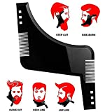 Woopoower Barbe Styling et Shaping template–Peigne souple pour la barbe, pour...