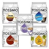 Tassimo Sweet Dreams Set: Milka Kakao, Suchard Kakao, Oreo, Chai Latte, Cappuccino, Heiße...