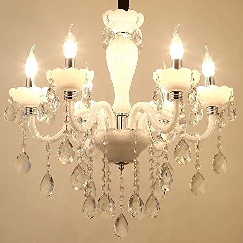 Accesorio de iluminación pendiente moderno contemporáneo del techo de la lámpara cristalina del cristal XYJGWDD