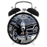 PICOM99 Smart alarm clock Cars Classical Retro Vehicle Antique Convertible Prestige Old Fashion RevivalPale Suitable for office bedroom study