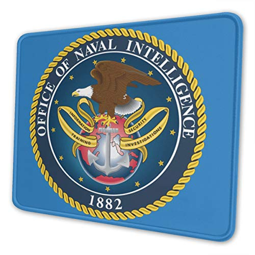 Office of Naval Intelligence Mouse Pad Non-Slip Rubber Gaming Mouse Pad Rectangle Mouse Pads for Computers Game Office