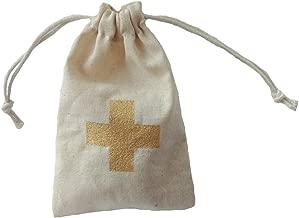 Hangover Kit Bags,Hen Party Survival Kit,Bachelorette Bags Golden Cross,Recovery Kit for Wedding Party,Bride Survival Kit,12 Pcs Pack