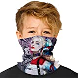 Kids Boys Girls Eye tears Multifunctional Seamless Bandanas Headband Scarf Headwrap Neck
