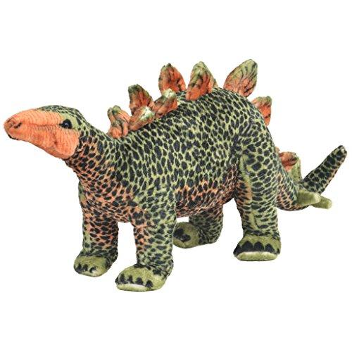 vidaXL Plüschspielzeug Stehend Stegosaurus XXL Kinder Plüschtier Kuscheltier
