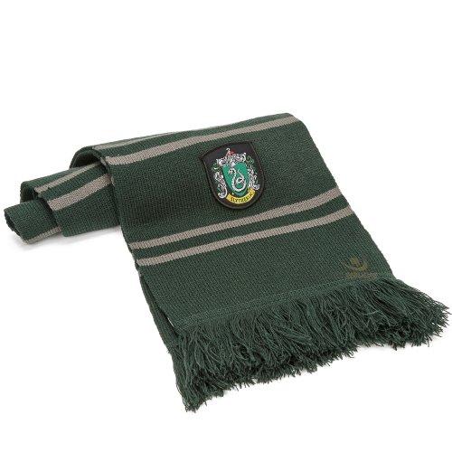 Cinereplicas Harry Potter Bufanda 190 cm - Ultra Soft - Bolsa con cremallera (Slytherin)