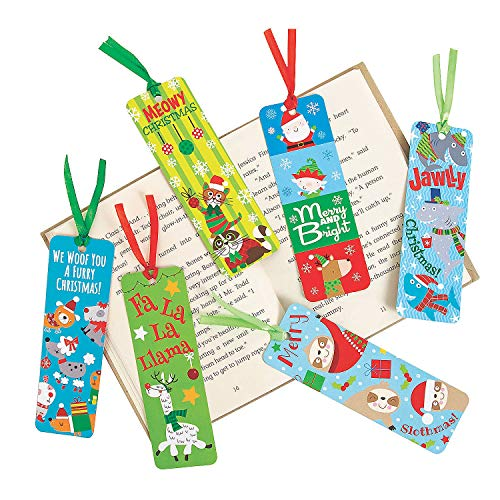 Fun Express Christmas Bookmarks - Stationery - 250 Pieces