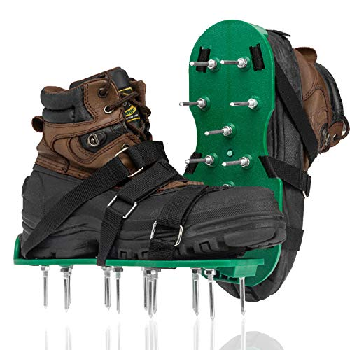 Punchau Lawn Aerator Shoes with Hook and Loop Straps - New...
