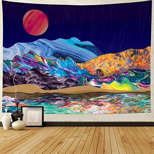 Mandala colgante de pared tapiz psicodélico yoga throw alfombra de playa hippie home wall boho decoración tapiz toalla de playa manta