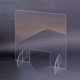 Transparent Anti-Spray Baffle, Office School Desk Restaurant Safety And Health Partition Desk And Table Partition To Preve...