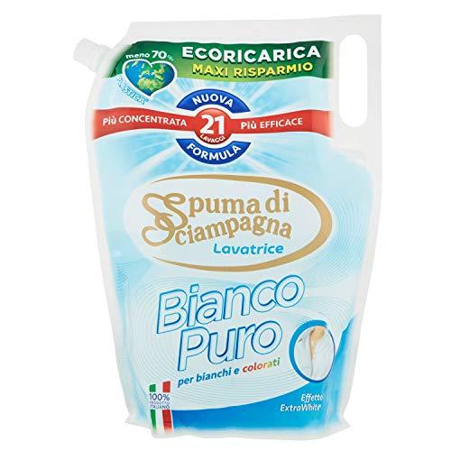 Spuma di Sciampagna Ecoricarica Lavatrice Liquido Bianco, 1155ml