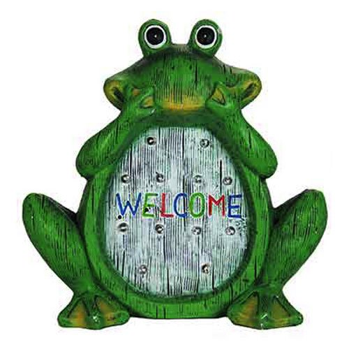 EXHART ENVIRONMENTAL SYSTEMS 10956 12' Sol LED Frog Statue