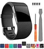 Best Fitbit Replacement Bands - CreateGreat Compatible Fitbit Surge Replacement for Band Strap Review