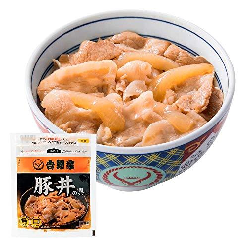 吉野家 [ 減塩 豚丼の具 / 120g×20袋セット ] 冷凍 どんぶり (レンジ・湯せん調理OK)