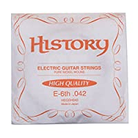 HISTORY HEGSH042 エレキギター弦 E-6th .042 バラ弦1本 (ヒストリー)