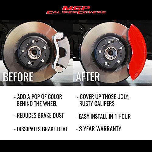 Disc Brake Caliper Cover-SXT Plus MGP Caliper Covers 12162SDD3RD