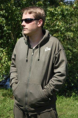 Nash Tracksuit Jacket Größe XXXL Jacke Angeljacke Karpfenjacke Freizeitjacke