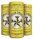 Triple Crown White Ice Shuffleboard Wax (White Ice 3-Pack)