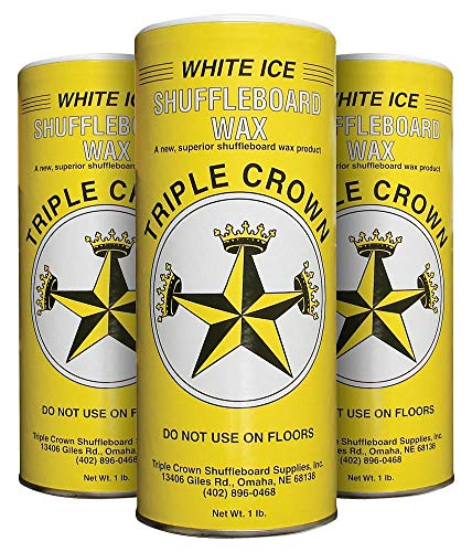 Buy Triple Crown White Ice Shuffleboard Wax (White Ice 3-Pack)
