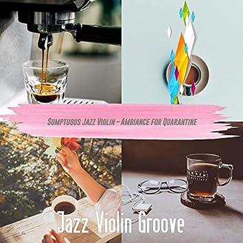 Sumptuous Jazz Violin - Ambiance for Quarantine