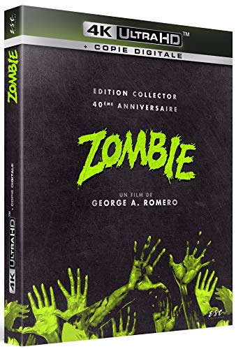 Le Blu-ray 4K Ultra-HD du film Zombie