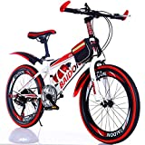 WGXQY Variables Kinder-Cross-Country-Mountainbike 20 Zoll 22 Zoll Studentenfahrrad Faltrad, mit...