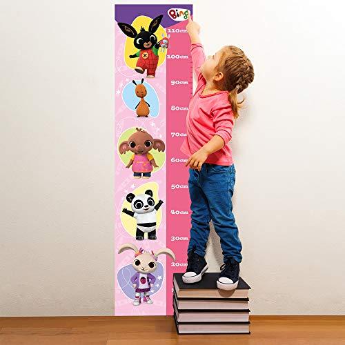 B_UV0001 - Adhesivos murales efecto tela Bing Cartoon Flop Amma Pando Padget Sula decoración de pared dormitorio infantil