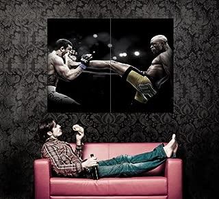 XD6698 Anderson Silva Kick Vitor Belfort Spider MMA Martial Arts HUGE GIANT WALL POSTER