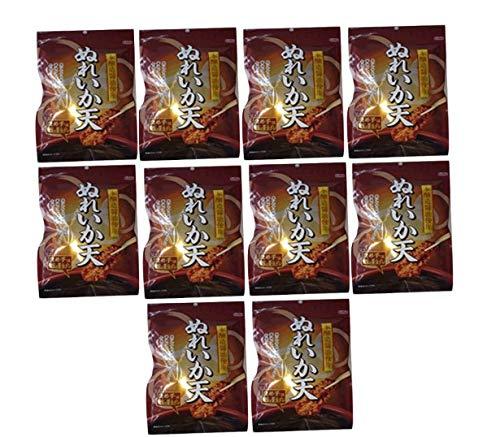 ぬれいか天 しっとりイカ天 本醸造醤油使用 70g (10袋セット)