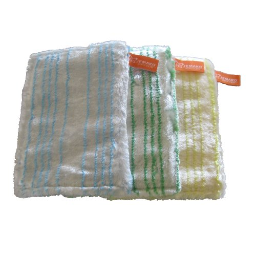 Jemako Spültücher im 3er Pack - grün / blau / gelb