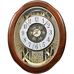 Rhythm Clocks Magnificent Magic Motion Clock