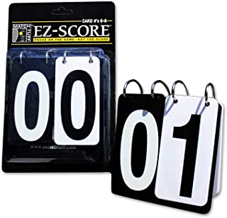 Match Tuff EZ Score (0-6) | Portable Tennis Score Keeper | EZ-FLIP | Outdoor/Indoor