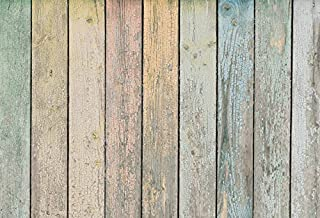 Yeele 5x4ft Color Wooden Board Backdrop Vintage Wood Floor Rustic Plank Texture Design Home Photography Background Adult Kid Baby Party Portrait Photo Booth Video Shoot Studio Props