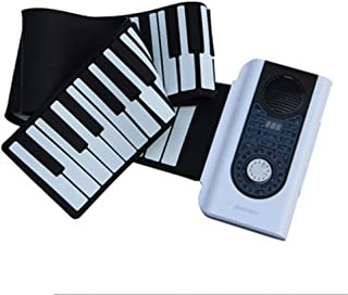 Professional Smart Keyboard Hand Roll Piano 88 Key Midi Piano Portable Piano Home Digital Keyboard (Color : 88 key)