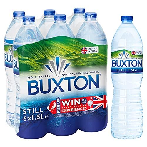 Buxton Still Natural Mineral Water, 6x1.5 Litre