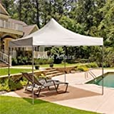 Invezo Impression Instant Portable Gazebo Canopy Tent with Free Cover (White, 10 x 10 feet, 18 kgs, Light Duty Tent) - 2 Minute Easy Installation