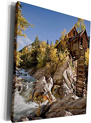 Scott397House Unframe Canvas Printing Wall Art 40x50 Danita Delimont Mills Usa Colorado Gunnison Forest Crystal Mill Framed Canvas Art Picture Print Wall Decoration for Living Room/Bed Room