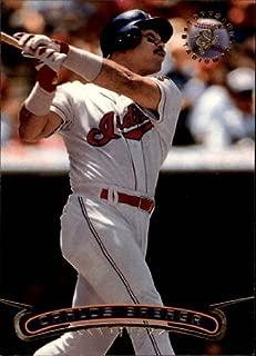 1996 Stadium Club #331 Carlos Baerga MLB Baseball Trading Card