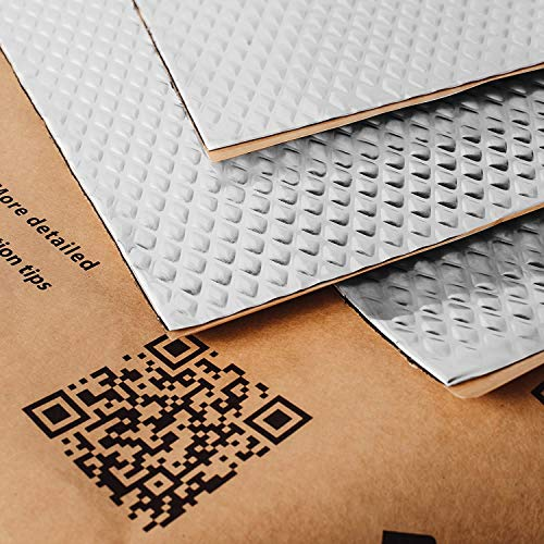 Noico 80 mil 10 sqft car Sound deadening mat, Butyl Automotive Sound Deadener, Audio Noise Insulation and dampening (Best Automator Workflows 2019)