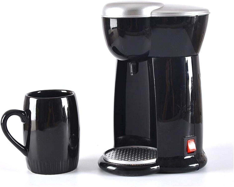tiempo libre XSWZAQ Máquina De Café por Goteo Estadounidense Taza Individual Individual Individual Hogar pequeño Goteo Una Máquina Mini Máquina De Café Eléctrica  marca en liquidación de venta