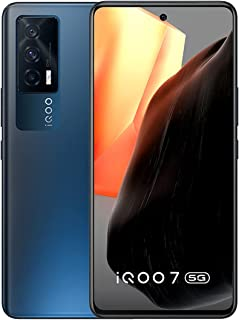 (Renewed) iQOO 7 5G (8GB RAM, 3GB Extended RAM, 128GB Storage) - Storm Black