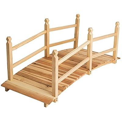 Wooden Bridge for Pond OGD090
