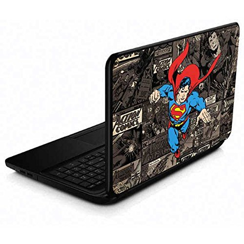 Skinit Decal Laptop Skin for 15.6 in 15-d038dx - Officially Licensed Warner Bros Superman Mixed Media Design