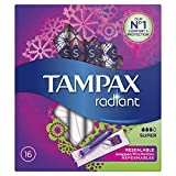 Tampax Radiant Tampons Super 16's