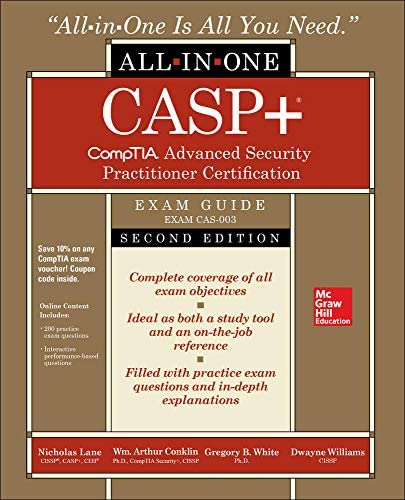 CASP CompTIA Advanced Security Practitioner Certification All in One Exam Guide Second Edition product image