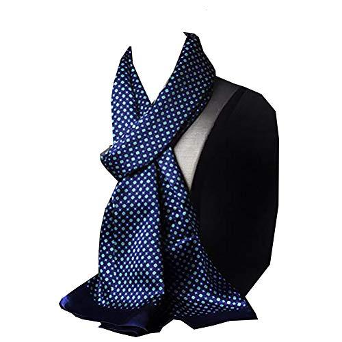 Herrenschal Seidentuch Krawatte Schal zum Binden Herrentuch Paisley Muster 100% reine Seide Alternative zur Krawatte Geeignet für Business-Dating-Partys für Gentleman