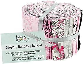"Fabric Editions Fabric Palette Jellies 2.5""X42"" 20/Pkg-Summertime In Paris"