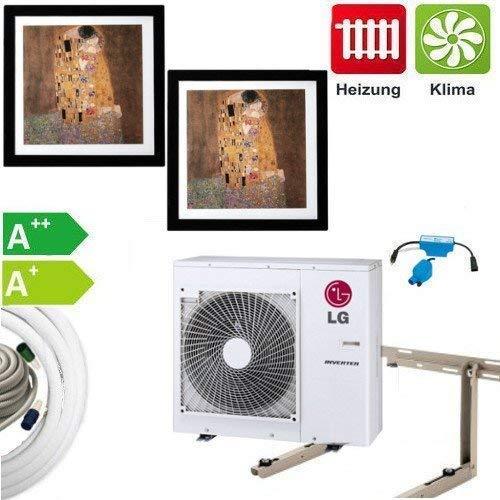 CLIMATIZZAZIONE SET COMPLETO multisplit LG Gallery dispositivi a parete 2x3, 5KW
